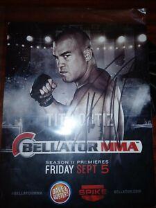 Tito Ortiz Signed 8x10 Photo BAS Beckett COA UFC Bellator MMA Promo Picture Auto