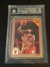 1991-92 Hoops Sears 100 Superstars Michael Jordan BGS 9 (9.5,8.5,9,9.5) Bulls