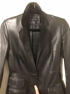 Karen Millen Leather Blazer