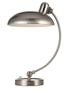 Woodbridge Lighting 13783STN 1 Light Table Lamp, Satin Nickel