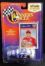 COLLECTIBLE KENNER WINNERS CIRCLE JEFF GORDON LIFETIME SERIES 1991 RACE CAR NEW