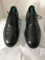 Johnston & Murphy Wingtip Brogue Lace up Dress Shoes   206615  Black  Size  10.5