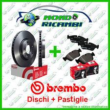 KIT DISCHI + PASTIGLIE FRENO ANTERIORI BREMBO PEUGEOT 206 1.4 HDI  98-> 12 VENT.