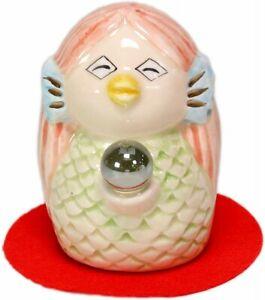 Amabie Japanese God of Pandemic Prevention Mini Statue Figure Porcelain Charm