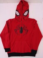 Original Marvel Comics Spider-Man Boy's Kid's Hoodie Sweatshit Red Sizes L XL