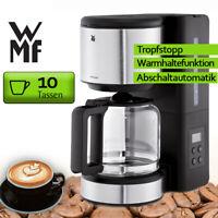 WMF Kaffeemaschine Kaffeeautomat Edelstahl Timer 10 Tassen Glaskanne Filter NEU