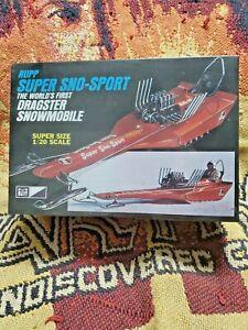 MPC #701 1/20 Rupp Super Sno-Sport Dragster Snowmobile