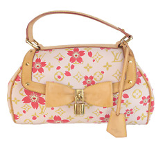 Louis Vuitton Limited Edition Pink Cherry Blossom Sac Retro Bag