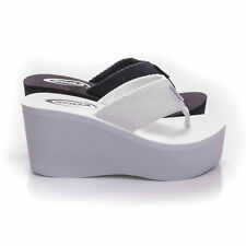 Soda OXLEY-S New Womens Sandals Wedge Shoes Platform Heels Thong Flip Flops