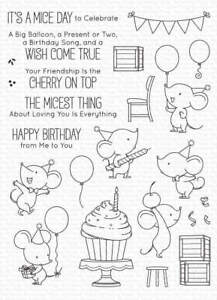 My Favorite Things - Clear Stamps - BB Mice Day to Celebrate