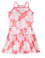 NWT Gymboree Girls Hop N Roll Pink Floral Dress Size 4 5 6 7 8 10 & 12