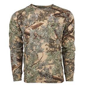 King's Camo Classic Cotton Long Sleeve Shirt Desert Shadow X-Large