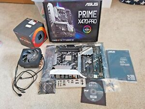 AMD Ryzen 7 2700X 3.7GHz 8-Core CPU & ASUS Prime X470-Pro Motherboard Bundle