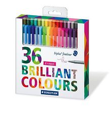 Staedtler Triplus Fineliner Full Set of 36 Assorted Colours 334 C36