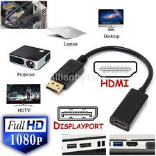 Displayport Display Port DP Male to HDMI Female 4K x 2K Adapter Converter Cable