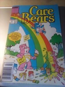 Care Bears #17 ~ MARVEL 1988 ~ Painting Rainbows