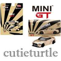 Mini GT USA Exclusive LB Works Nissan Skyline GT-R R35 1:64 Satin Gold MGT00030