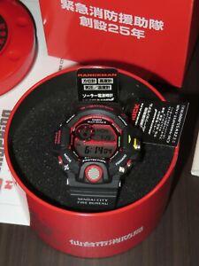 G-Shock Rangeman GW-9400NFST-1AJR Kobe & Sendai Fire Bureau (NEW 100%)