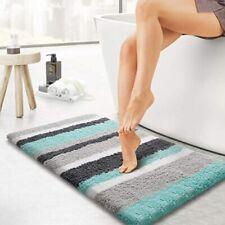 "New ListingLuxury Bathroom Rugs Bath Mat,20""x32"", Machine Washable Green-Grey"