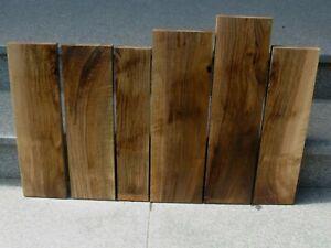 Europäischer Nussbaum Bretter 6 Stück Reste