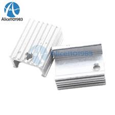 10PCS Heat Sink 21x15x10mm Aluminum Heat Sink TO-220 Transistors DIY