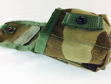 US Military Woodland Camo Hand Grenade Pocket Ammo Clip Pouch Molle