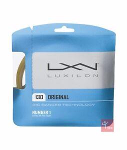 Luxilon Big Banger Original 130 Tennis String Set - 16 / 1.30mm - Amber