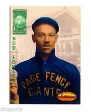 """John """"Bud"""" Flower - Page Fence Giants  Negro Leagues - 1994 Ted Williams Card Co"""