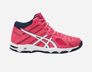 ASICS Woman GEL BEYOND 5 MT Scarpe Donna VOLLEY ROUGE RED WHITE B650N 1901