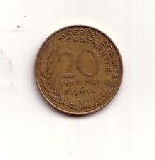 Francia France  20 centimes 1964    BB    (m648)