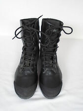 Military Issue British Army Magnum Amazon Black Steel Toe Combat Boots Size 8