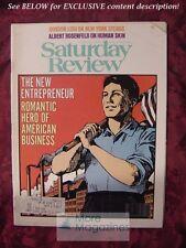 Saturday Review July 22 1978 AMERICAN ENTREPRENEUR DAVID E KOSKOFF ERNEST V HEYN