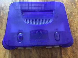 N64 Nintendo 64 Konsole Atomic Purple / Lila transparent PAL