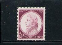 ALEMANIA/GERMANY 1941 MNH SC.B200 YT.734 W.A.Mozart