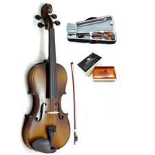 Holiday SALE New 1/16 Size Solid Violin w Lightweight Case Rosin and Bow