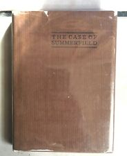 The Case of Summerfield By Rhodes with dust Jacket 1907 Fantasy novel