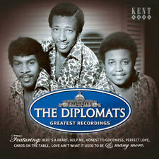 """THE DIPLOMATS  """"GREATES RECORDINGS - CARDS ON THE TABLE, HELP ME Etc."""" 25 TRACKS"""