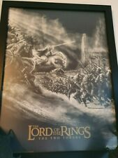 Lord of the Rings The Two Tower  Print 11/35 CHRIS SKINNER