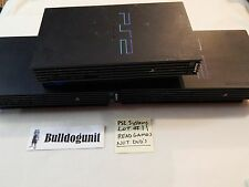 Lot of 3 Playstation 2 Ps2 Systems WILL Play Games NOT DVD Please Read AS IS #11