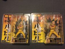 Lot Of 2 NECA Reel Toys Kill Bill Volume 1 The Bride Action Figure - Both Bases!