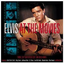 ELVIS PRESLEY - Elvis At The Movies (LP) (180g Red Vinyl) (M/M) (Sealed) (2)