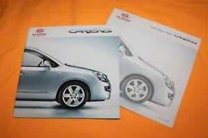 Kia Carens 2008 Prospekt Brochure Depliant Catalog Prospetto Broschyr Folder