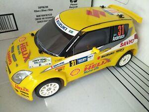 Tamiya FWD M-05Ra Suzuki Swift WRC Radio Controlled Car plus Servo, ESC, Motor