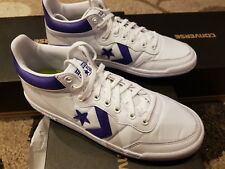 e1da3db23c4ee9 Converse Unisex Fastbreak 83 Mid White candy Grape white Size 5