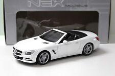 1:18 Welly Mercedes SL 500 Convertible R231 white 2012 NEW bei PREMIUM-MODELCARS