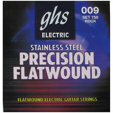 Ghs 750 Precision Flats Flatwound Ultra Light Electric Guitar Strings 9-42