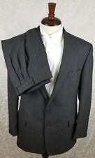 Polo Ralph Lauren Men's Wool 2 Button Suit 44L - 32 Charcoal Gray Twill USA MINT