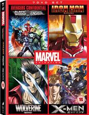 MARVEL ANIME BOX SET - DVD - REGION 2 UK