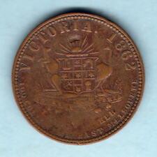 Australia Token. Stokes 1862 1d.. Melbourne Vic.. Arms & Vine.. Fine