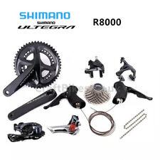 Limited stock! Shimano Ultegra R8000 2x11 Speed Road Racing Bike Groupset 50/34T